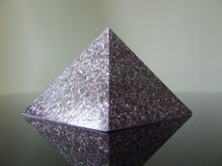 Orgone Protector Silver Pyramid 3rd Eye Awakening 6th Chakra Energy